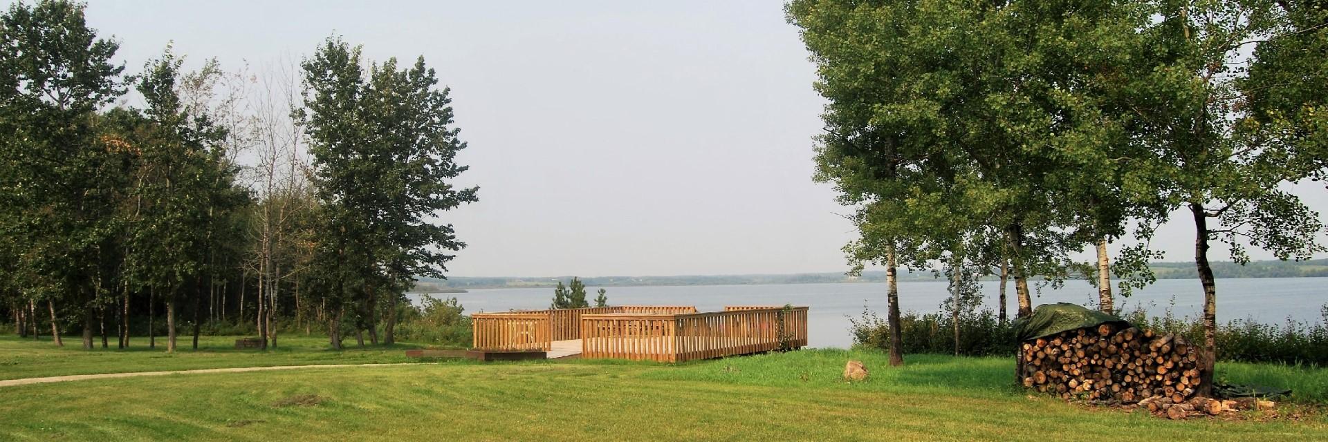 Eagle Healing Lodge lake