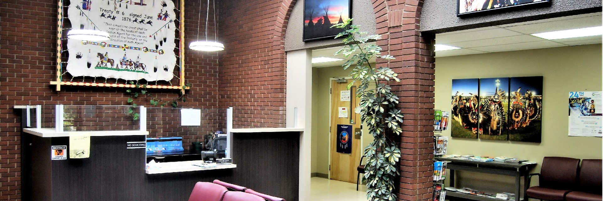Health Centre Entrance